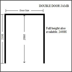 double door jamb internal door jambs timber door